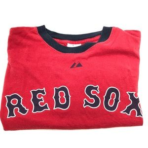 Vintage Red Sox Baseball MLB Majestic T-shirt